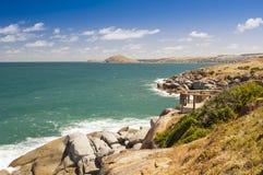 Île de granit Image libre de droits