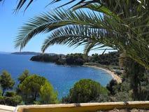 Île de Grec de Skiatos Photo libre de droits