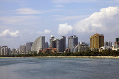 Île de Hainan. Sanya Image libre de droits