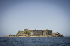 Île de Hashima Photos stock