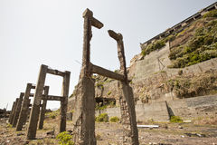 Île de Hashima Image stock