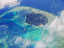 Île de Hatoma, Okinawa Japan Photographie stock