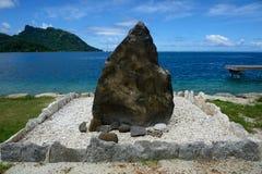 Île de Hauhine Photos stock