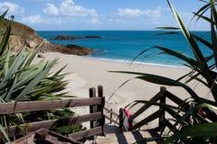 Île de Herm, Îles Anglo-Normandes Photographie stock libre de droits