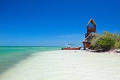 Île de Holbox au Mexique Photographie stock libre de droits