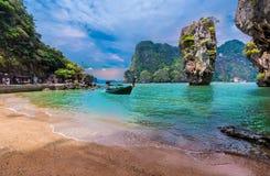Île de James Bond en Thaïlande Image stock