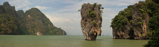 Île de James Bond. La Thaïlande. Photos libres de droits