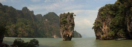 Île de James Bond. Phuket. La Thaïlande Photographie stock
