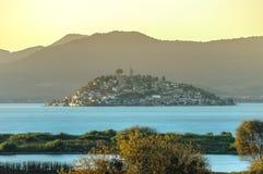 Île de Janitzio, Patzcuaro, Michoacan, Mexique photos libres de droits