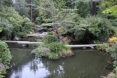Île de jardin de Kubota photographie stock