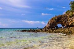 Île de Kai, Satun Photographie stock
