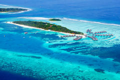 Île de Kani en Maldives images stock