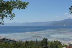 Île de Karampuang, un petit morceau de ciel Photo stock