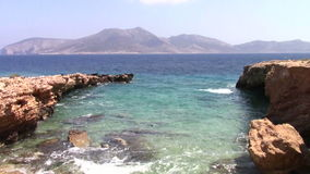 Île de Keros banque de vidéos