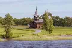 Île de Kizhi, Carélie, Russie Photographie stock libre de droits