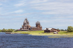 Île de Kizhi, Carélie, Russie Photographie stock