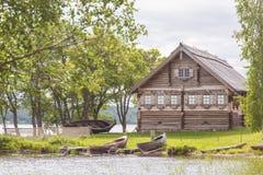 Île de Kizhi, Carélie, Russie Photo libre de droits