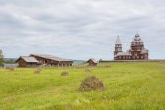 Île de Kizhi, Carélie, Russie Image stock