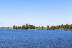 Île de Kizhi en Russie Photographie stock