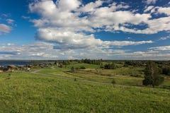 Île de Kizhi, Petrozavodsk, Carélie, Fédération de Russie - 20 août 2018 : Architecture folklorique et l'histoire de la construct photos stock