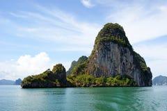 Île de Ko Phanak, Thaïlande image stock