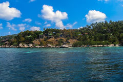 Île de Ko Tao, Thaïlande Photographie stock