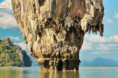 Île de Ko Tapu Images stock
