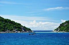 Île de Koh Tao, Thaïlande Photos libres de droits