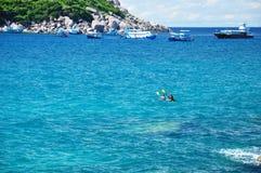 Île de Koh Tao, Thaïlande Image libre de droits