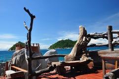 Île de Koh Tao, Thaïlande Photo stock