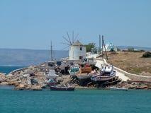 Île de Koufanissi Image libre de droits
