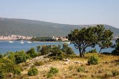 Île de Krk La Croatie, l'Europe Photo stock