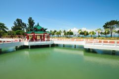 Île de Kusu - Singapour Photo stock