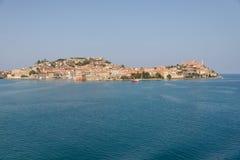 Île de l'Île d'Elbe, Italie Images libres de droits