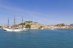Île de l'Île d'Elbe, Toscane Italie Photographie stock