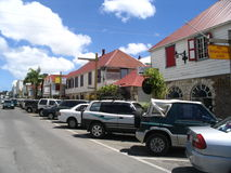 île de l'Antigua Image libre de droits