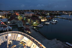 Île de l'Antigua, des Caraïbes images libres de droits