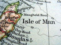 Île de l'homme Photographie stock