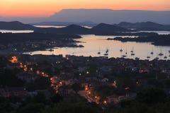 Île de la Croatie - de Murter Image stock