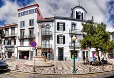 Île de la Madère, Funchal, vieille ville Photographie stock