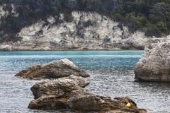 Île de la mer ionienne Photographie stock