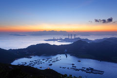 Île de Lamma, Hong Kong images libres de droits