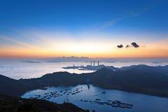 Île de Lamma, Hong Kong photo stock