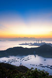 Île de Lamma, Hong Kong images stock