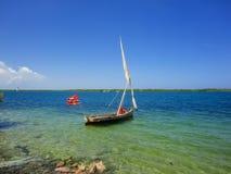 Île de Lamu au Kenya photographie stock libre de droits