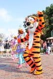 ÎLE de LANTAU, HONG KONG- 5 avril 2017 : - Hong Kong Disneyland Photographie stock libre de droits