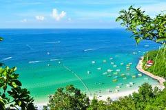 Île de Larn de KOH Photographie stock libre de droits