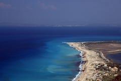 Île de Lefkas Images libres de droits