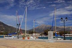 Île de Lefkas Photos libres de droits