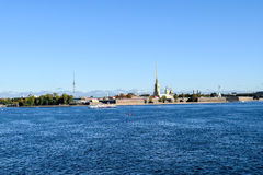 Île de lièvres à St Petersburg, Russie Images stock